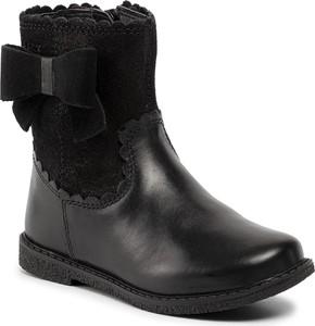 Buty dziecięce zimowe Geox na zamek