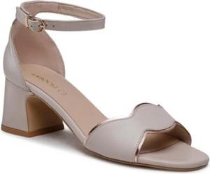 Sandały Lasocki ze skóry