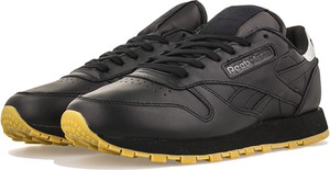 Buty sportowe Reebok sznurowane ze skóry z płaską podeszwą