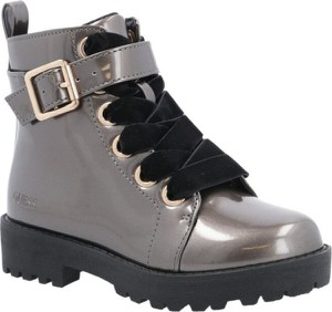 Brązowe buty dziecięce zimowe Guess