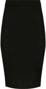 Czarna spódnica Marella z wełny