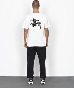 T-shirt Stussy z bawełny z krótkim rękawem