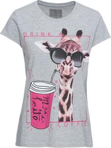 T-shirt bonprix RAINBOW w młodzieżowym stylu
