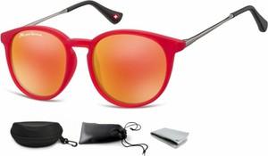 Stylion Okulary dziecięce lenonki Unisex lustrzanki matowe CS71B