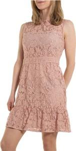 Różowa sukienka Marella rozkloszowana