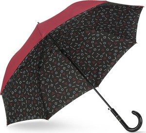 Parasol Rusqué z nadrukiem w stylu casual