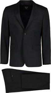Czarny garnitur Lavard z wełny