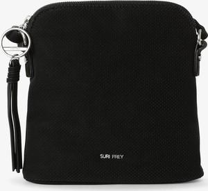 Czarna torebka Suri Frey matowa średnia