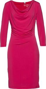 Sukienka bonprix bpc selection z długim rękawem
