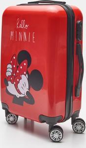 Sinsay - Walizka kabinowa Myszka Minnie - Czerwony