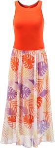Sukienka Aniston Selected z okrągłym dekoltem trapezowa