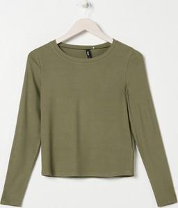 Zielona bluzka Sinsay w stylu casual