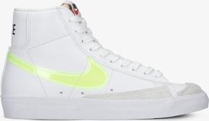 Buty sportowe Nike w sportowym stylu z płaską podeszwą ze skóry