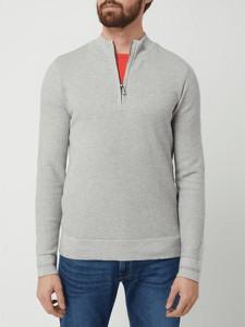 Sweter Tom Tailor w stylu casual z bawełny ze stójką