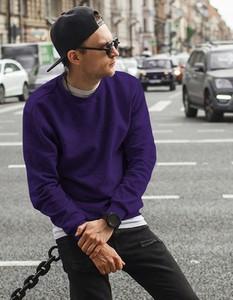 Granatowa bluza Dstreet