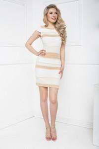 Sukienka Marcelini z tkaniny dopasowana