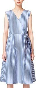 Błękitna sukienka edc by Esprit