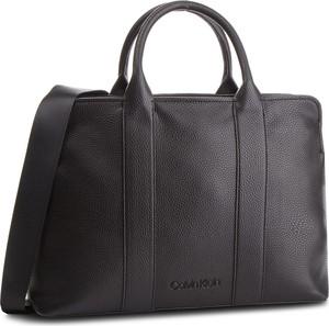 08ac41d83b28b Brązowa torebka Calvin Klein w stylu casual