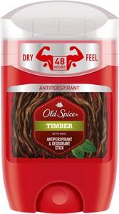 Old Spice, Timber, antyperspirant i dezodorant w sztyfcie dla mężczyzn, 50 ml