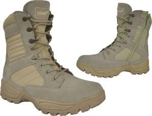 Buty trekkingowe Texar sznurowane ze skóry