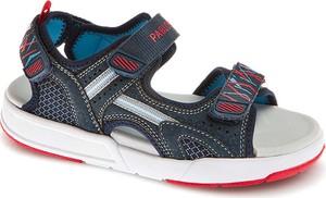 Buty dziecięce letnie Pablosky ze skóry na rzepy