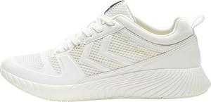 Sneakersy Hummel sznurowane z płaską podeszwą
