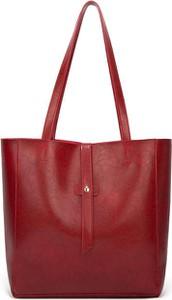 Czerwona torebka Cikelly duża na ramię