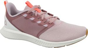 Buty sportowe Reebok sznurowane w młodzieżowym stylu z tkaniny