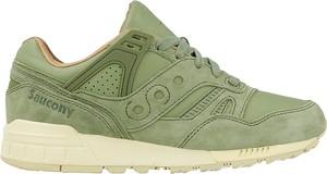 Zielone buty sportowe saucony