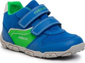 Trampki dziecięce Geox na rzepy