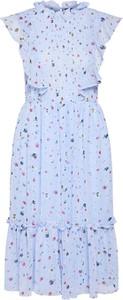 Sukienka BooHoo z szyfonu
