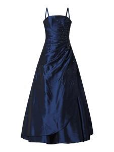 Sukienka Luxuar z tiulu maxi