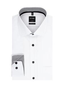 Koszula Olymp z bawełny z długim rękawem