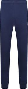 Niebieskie spodnie sportowe Emporio Armani