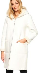 Płaszcz Rino & Pelle w stylu casual z zamszu