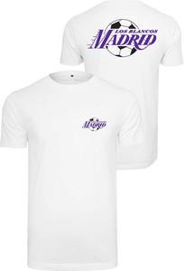 T-shirt Mister Tee z nadrukiem z krótkim rękawem