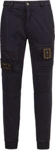 Granatowe spodnie Aeronautica Militare