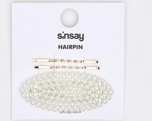 Sinsay - Spinka do włosów - Biały