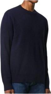 Niebieski sweter Woolrich w stylu casual