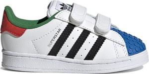 Buty sportowe dziecięce Adidas na rzepy superstar