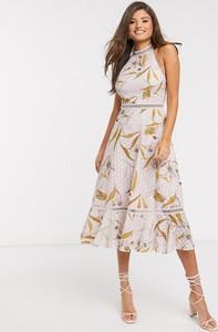 Sukienka Ted Baker z dekoltem halter