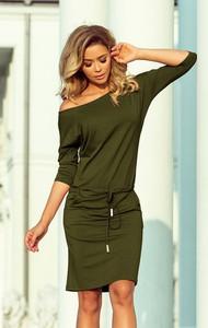 Zielona sukienka NUMOCO sportowa