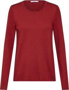 Czerwony sweter edc by Esprit w stylu casual