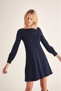Granatowa sukienka Tatuum