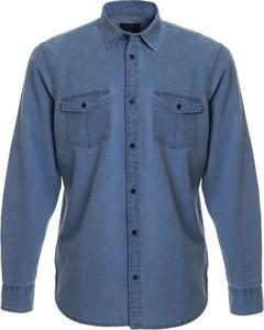 Koszula Big Star z długim rękawem z klasycznym kołnierzykiem z jeansu