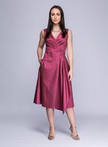 Sukienka Semper midi z bawełny