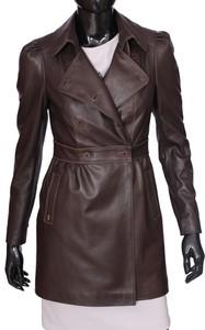 ebc95ef6b32de płaszcze skórzane damskie nowy targ - stylowo i modnie z Allani