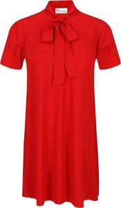 Sukienka Red Valentino z krótkim rękawem mini