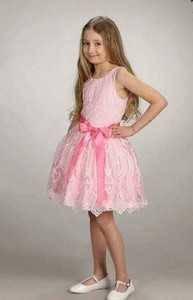 Różowa sukienka dziewczęca Mała Mi