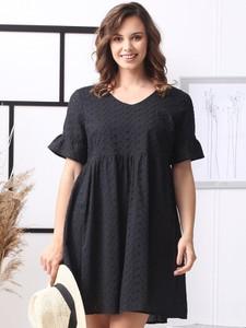 Sukienka Grandio mini z bawełny